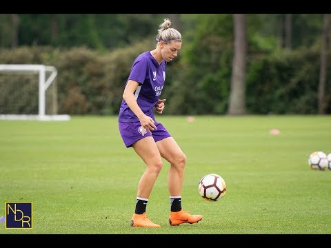 MATCH 9 (Pride vs. North Carolina) | Pre-Training Scrum With Alanna Kennedy
