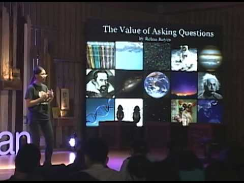 The value of asking questions: Reina Reyes at TEDxDiliman