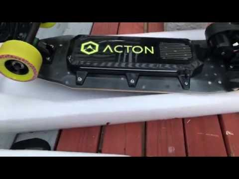 ACTON Blink Board Electric Skateboard Unboxing