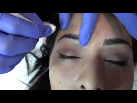 Eyebrows  Embroidery  or Microblading