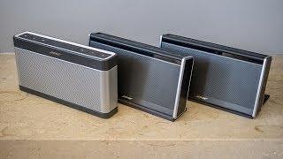 Bose Soundlink III vs Soundlink II vs Soundlink I audiotest