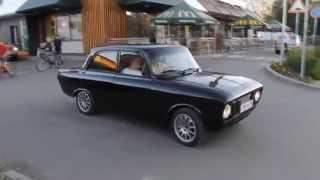 Вечерние покатушки на Турбо москвиче и Волге V8