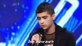 Audición de Zayn Malik en The X  Factor (Traducida)