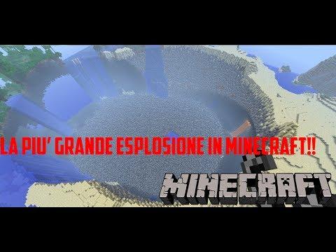 LA PIU' GRANDE ESPLOSIONE IN MINECRAFT!! OH MY GOOOOD- Megacostruzioni #3- More Explosive Mod