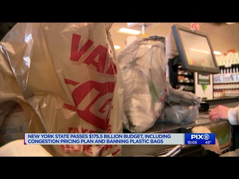 Manhattan Tolls, Plastic Bag Ban Approved In New York Budget