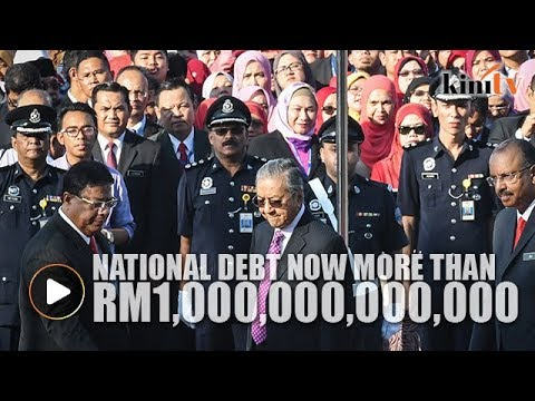 Dr Mahathir: National debt now more than RM1 trillion