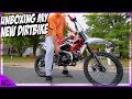 UNBOXING My New Peace Moto 125cc Pit Bike!  How To Put Together Peace Moto 125cc Pit/Dirt Bike!