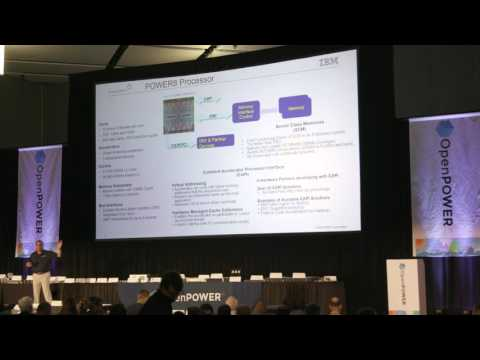 IBM's Brad McCredie at OpenPOWER Summit