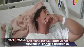Violencia, poder e impunidad : joven agresor hirió a varias personas y está libre