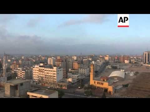 Explosions shake Gaza City as fighting continues following collapse of Cairo talks