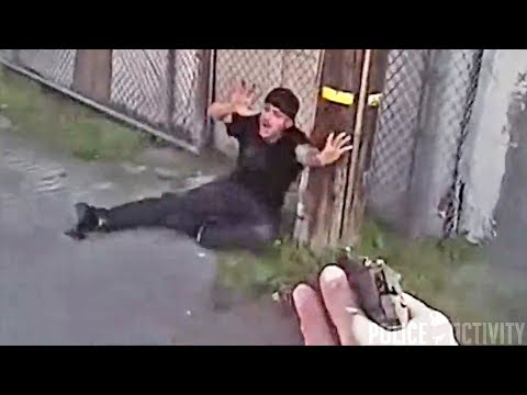 Trevor Carey - Body Cam Video Released of Fresno Police Shooting (WARNING Graphic Content)