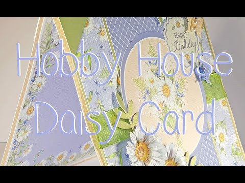 Hobby House Daisy Birthday Card