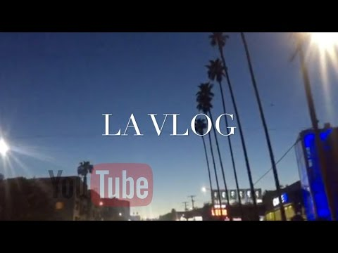 LOS ANGELES VLOG- YOUTUBE EVENT IN LA | PART 1