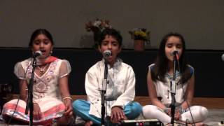 Alankar School of Indian Classical Music - Jun 8th 2014 Concert - Meha Re - Raag Des