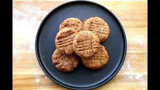 Sugar-free oatmeal and date cookies I The Buddhist Chef