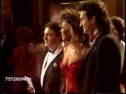 Mary Wilson at The Golden Globe Awards [January 23, 1988]