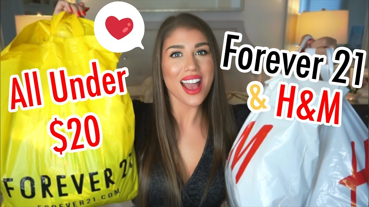 Forever21 + H&M Try-On Haul | Affordable Winter Clothing 5