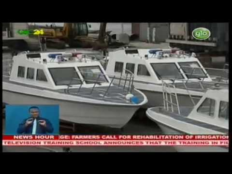 China presents speedboats to Ghana Navy