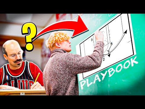 Teaching My Teacher How To Play Basketball!