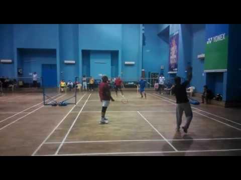 BGR badminton doubles 2016