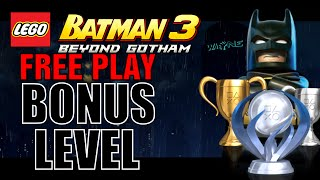 Lego Batman 3 Same Bat-Time! Same Bat-Channel! - 100% (All Minikits and Characters)