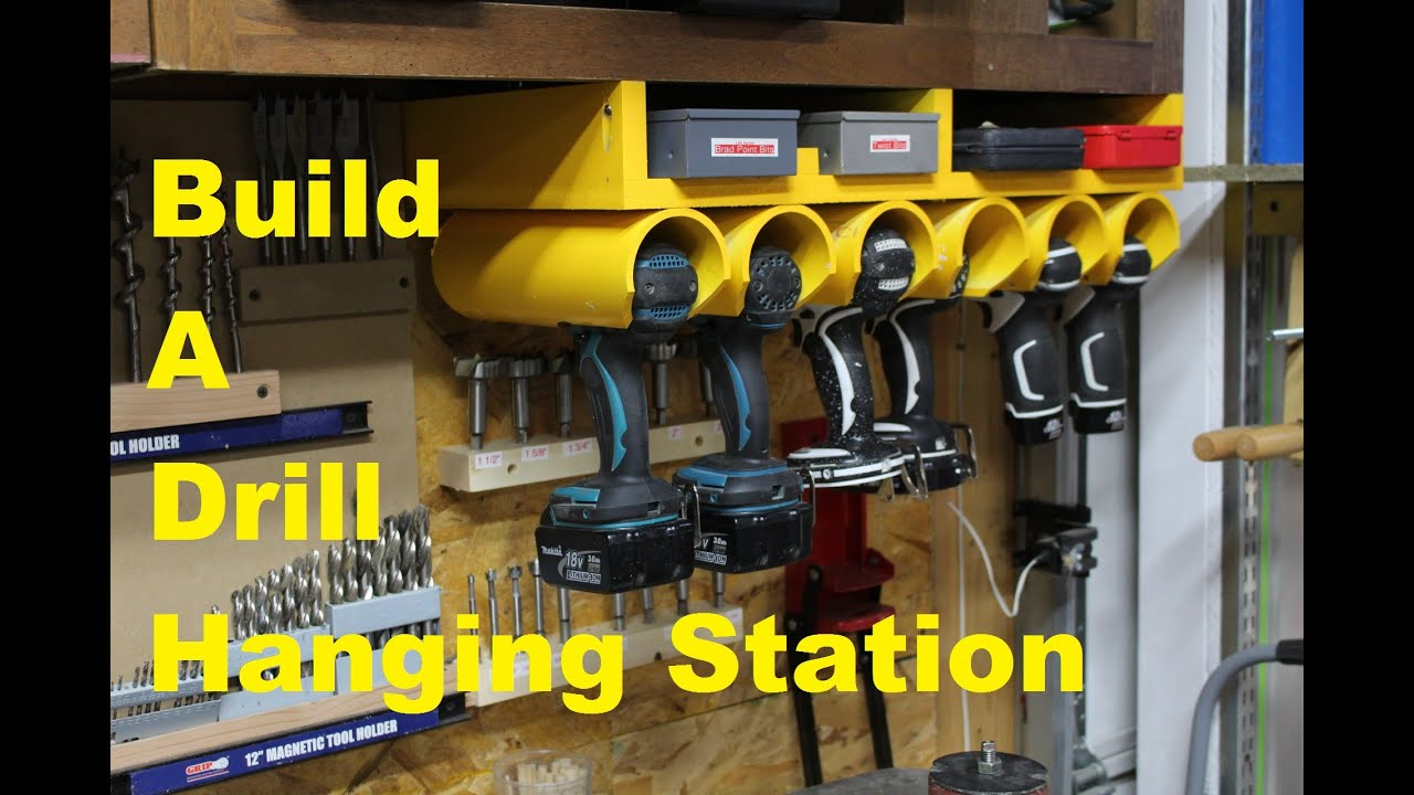 drill driver hanging station