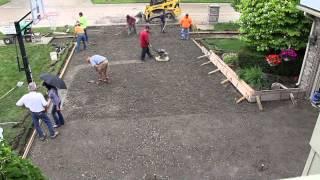 Concrete Driveway TimeLapse