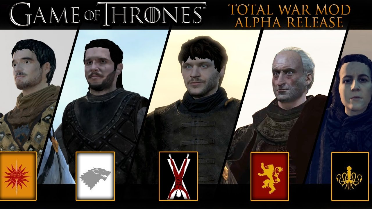 Attila Total War Mod: Seven Kingdoms (Game of Thrones) | The