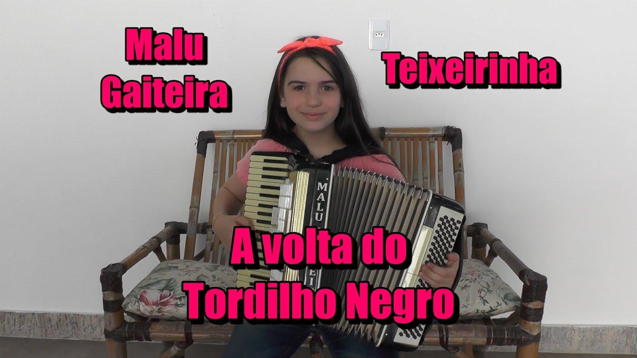 Malu Gaigeita - A Volta do Tordilho Negro - Teixeirinha