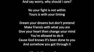 The Age of Worry lyrics (Boyce Avenue acoustic cover)