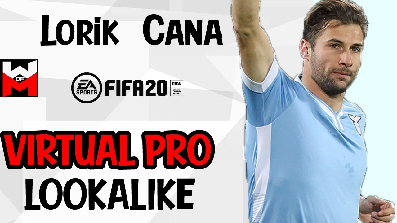 FIFA 20 | VIRTUAL PRO LOOKALIKE TUTORIAL - Lorik Cana