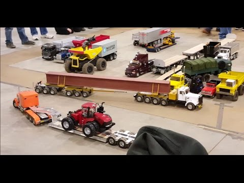 1:16 RC Trucks Kenworth Mack Peterbilt Tractor Trailers Lowboys ETC