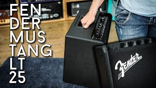 A review for beginners: Fender Mustang LT25
