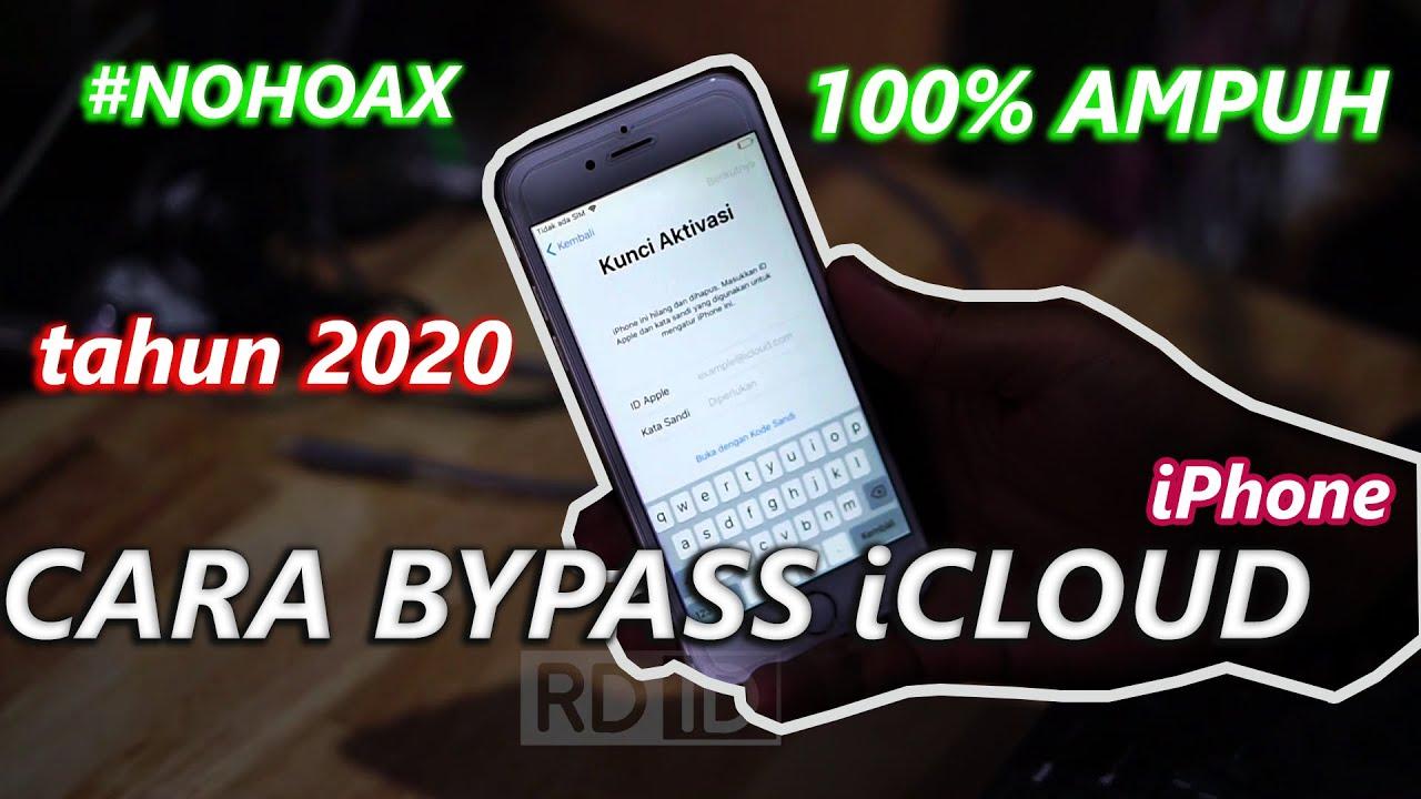 Tutorial Cara Bypass Icloud Iphone Bisa Masuk Akun Icloud Baru Full Tutorial Youtube