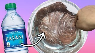 DIY WATER SLIME! (NO GLUE)