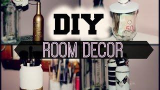 DIY Room Decor {Reuse Candle Jars + Bottles}