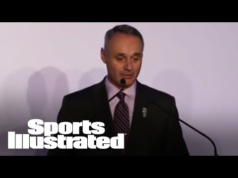 MLB Commissioner Praises Madison Bumgarner | 2014 Sportsman Of The Year | Sports Illustrated