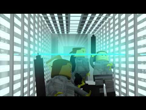 Resident Evil Laser scene -
