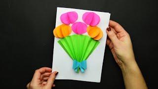 як зробити листівку з серветок