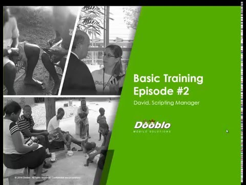 SurveyToGo Basic Scripting Training - Episode #2 - Screener