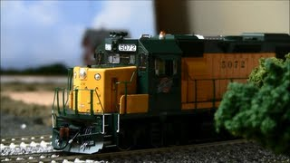 Athearn Genesis GP50 Review HO Scale DC/DCC/Tsunami Sound