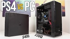 $300 Gaming PC vs PS4 PRO! - The Ultimate Showdown - VOLT PT. 3