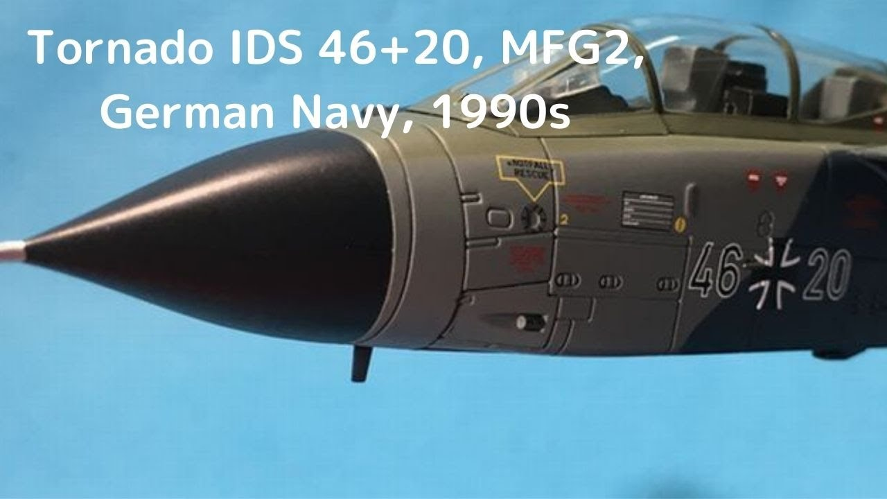 Download New!Tornado IDS 46+20, MFG2, German Navy, 1990s 1/72scale HOBBYMASTER