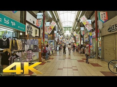 Walking around Tenjinbashisuji Shopping Street, Osaka - Long Take【大阪・天神橋筋商店街】 4K