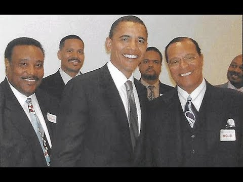 Blue Pill speaks on Barack Obama's Secret Photo with Min. Louis Farrakhan