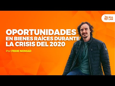 #QuedateEnCasa #learn Real Estate Opportunities during the 2020 crisis #with me FedeNomad from YouTube · Duration:  16 minutes 21 seconds