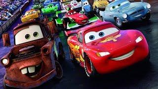 Мультики про Машинки Большой Сборник ТАЧКИ Молния Маквин и его Машинки Мультфильмы для детей CARS