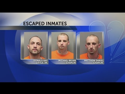 3 inmates escape from Dorchester County Jail