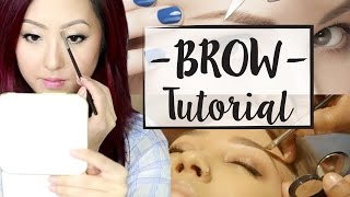 how to get the perfect brow everyday luxe w raeview