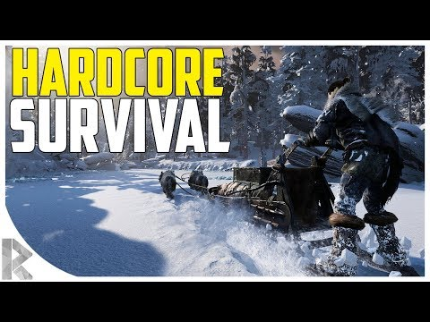 *NEW* Most HARDCORE Survival Game EVER! - Fade to Silence Gameplay #1 (Let's Play Fade to Silence)